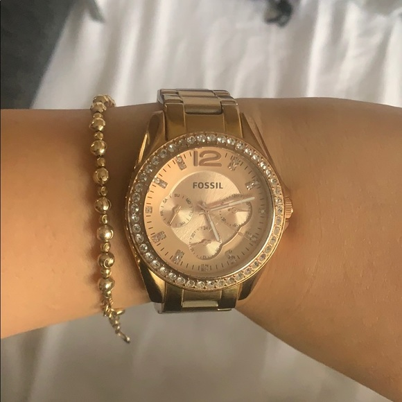 Fossil Watch gold/rose gold